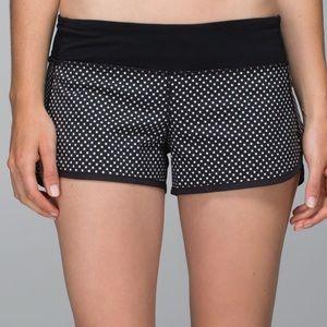 RARE Lululemon Speed Shorts